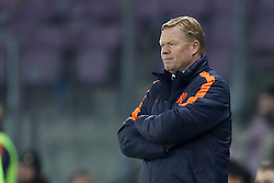 coach Ronald Koeman of Holland during the International friendly match match between Portugal and The Netherlands at Stade de Genève on March 26, 2018 in Geneva, Switzerland