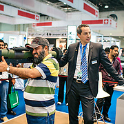 From the series WAR GAMES: at the International Defense Exhibition in Abu Dhbai, UAE