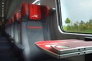 Milan, Italy-10/03/2017- inauguration of the new high-speed train of NTV, the Alstom ETR 675 Italo Evo
