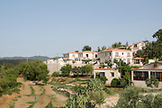Cyprus, Lysos, the village and agricultural fields