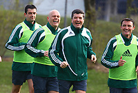 Fotball<br /> EM 2008<br /> 17.04.2008<br /> Foto: imago/Digitalsport<br /> NORWAY ONLY<br /> <br /> Schiedsrichter Workshop Euro 2008, v. re.: Die Fifa Schiedsrichter Manuel Mejuto Gonzalez (Spanien), Herbert Fandel (Deutschland), Tom Henning Øvrebø (Norwegen);