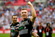 Hull FC full back Jamie Shaul (1)  during the Ladbrokes Challenge Cup Final 2017 match between Hull RFC and Wigan Warriors at Wembley Stadium, London, England on 26 August 2017. Photo by Simon Davies.