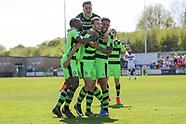 Forest Green Rovers v Dagenham and Redbridge 070517