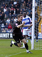 Photo: Olly Greenwood.<br />Queens Park Rangers v West Bromwich Albion. Coca Cola Championship. 31/03/2007. West Brom's Zoltan Gera celebrates scoring