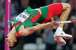 Edgar Rivera of Mexico in the men´s highjump during day ten of the 2017 IAAF World Championships at the London Stadium, UK, Sunday August 13, 2017. Photo by Giuliano Bevilacqua/ABACAPRESS.COM