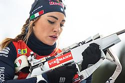 Dorothea Wierer (ITA) during the Mass Start Women 12,5 km at day 4 of IBU Biathlon World Cup 2019/20 Pokljuka, on January 23, 2020 in Rudno polje, Pokljuka, Pokljuka, Slovenia. Photo by Peter Podobnik / Sportida