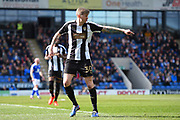 Notts County forward Jonathan Stead (30) during the EFL Sky Bet League 2 match between Chesterfield and Notts County at the b2net stadium, Chesterfield, England on 25 March 2018. Picture by Jon Hobley.