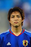 "12/08/04 - THESSALONIKI - GREECE -  - JAPAN OLYMPIC MENS FOOTBALL TEAM -  <br />First match Group B - JAPAN () Vs. PARAGUAY -<br />At the THESSALONIKI ""KAFTATZOGLIO STADIUM"".<br />Min.= '   Japan player N*8 ONO SHINJI<br />© Gabriel Piko / Piko-Press"