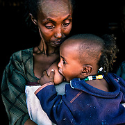 In Ethiopia, 106 out of every 1,000 children die before they reach the age of five. 60% of infant death is estimated to be caused by water-related infectious diseases and parasites. Diarrhoea is the most common symptom. Raya-Mehoni, Ethiopia.