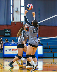 On September 23, 2021, the West County High School varsity girls volleyball team played a home game against Santa Rosa High School Panthers.  West County won the game 3-0.