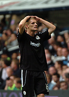Photo: Tony Oudot.<br /> Tottenham Hotspur v Derby County. The FA Barclays Premiership. 18/08/2007.<br /> Gary Teale of Derby County is dejected after his side lose 4-0
