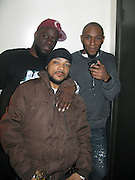 """9 January-NY, NY- l to r: DJ Abdul, Medina Green and MOS DEF at MOS DEF produced by Jill Newman Productions held at Highline Ballroom on January 9, 2009 in NYC. Photo Credit: Terrence Jennings/SIPA Press..Regarded as one of hip-hop's most introspective and insightful artists, Mos Def has shaped a career that transcends music genres and artistic medium. With the release of """"Universal Magnetic"""" in 1996 he became an underground favorite, leading to his legendary collaboration with Talib Kweli. The two formed Black Star, whose debut album, Mos Def and Talib Kweli Are?Black Star, would become one of the most critically acclaimed hip-hop albums of all time. Mos followed that release with his 1999 solo debut, Black On Both Sides, which featured the classic tracks """"Ms. Fat Booty"""" and """"Umi Says."""" The album was certified gold and credited by critics as bringing hip-hop back to its soapbox roots."""