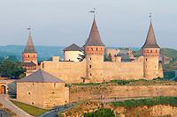 Ukraine, region de Khmelnystskyi, forteresse de kamenets podolski. // Ukraine, Khmelnystskyi province, fort of kamenets podolski.