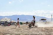 California desert lifestyle photographer Raymond Rudolph photographs vanner culture in the Mojave Desert