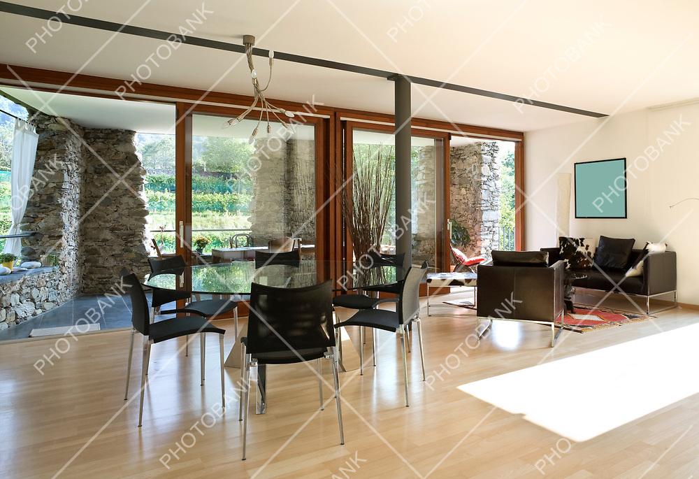 minimal and ethnic interior