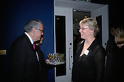 U.S. Ambassador Robert Tuttle and Mary Rittmann ,, Maricopa Partnership for Arts and Culture,  Arizona Office of Tourism, and Arizona Department of Commerce<br /> In association with the Architecture Foundation and Blueprint magazine host Phoenix: 21st Century City , Serpentine Gallery, London. 12 March 2007.  -DO NOT ARCHIVE-© Copyright Photograph by Dafydd Jones. 248 Clapham Rd. London SW9 0PZ. Tel 0207 820 0771. www.dafjones.com.