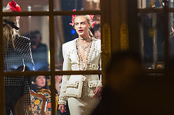 Cara Delevingne at the Ritz hotel for Chanel fashion show in Paris, France on December 6, 2016. Photo by Nasser Berzane/ABACAPRESS.COM