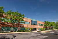 Architectural image of Dulles Tech Center 2 Office Building in Chantilly Virginia by Jeffrey Sauers of Commercial Photographics, Architectural Photo and Video Artistry