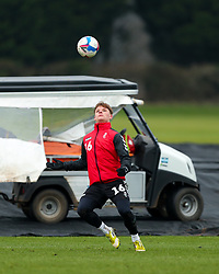 Cameron Pring of Bristol City during a training session ahead of the FA Cup game with Portsmouth - Rogan/JMP - 07/01/2021 - Failand - Bristol, England.