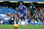 Willian of Chelsea looks on. Barclays Premier league match, Chelsea v Stoke city at Stamford Bridge in London on Saturday 5th March 2016.<br /> pic by John Patrick Fletcher, Andrew Orchard sports photography.