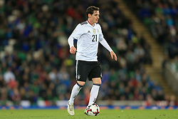5th October 2017 - 2018 FIFA World Cup Qualifying (Group C) - Northern Ireland v Germany - Sebastian Rudy of Germany - Photo: Simon Stacpoole / Offside.
