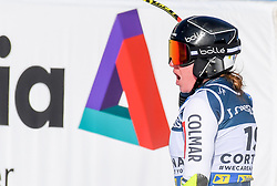 15.02.2021, Cortina, ITA, FIS Weltmeisterschaften Ski Alpin, Alpine Kombination, Damen, Super G, im Bild Marusa Ferk (SLO) // Marusa Ferk of Slovenia reacts after the Super G competition for the women's alpine combined of FIS Alpine Ski World Championships 2021 in Cortina, Italy on 2021/02/15. EXPA Pictures © 2021, PhotoCredit: EXPA/ Erich Spiess