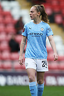 Manchester City midfielder Keira Walsh (24) Portrait half body during the FA Women's Super League match between Manchester United Women and Manchester City Women at Leigh Sports Village, Leigh, United Kingdom on 14 November 2020.