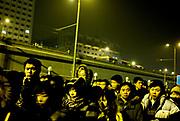 Outside the Metro in Beijing, China, on thursday 17. jan, 2008