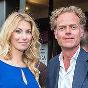 NLD/Amsterdam/20160705 - Boekpresentatie Huidpijn van Sakia Noort, Susan Smit en partner Onno Aerden