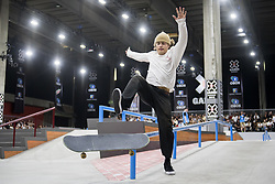 May 20, 2018 - Oslo, NORWAY - 180520 Jaakko Ojanen of Finland competes in the men's street skateboard nordic qualifier during X Games Norway on May 20, 2018 in Oslo.Photo: Fredrik Varfjell / BILDBYRÃ…N / kod FV / 150098 (Credit Image: © Fredrik Varfjell/Bildbyran via ZUMA Press)