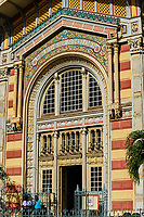 France, Martinique, Fort-de-France, bibliothèque Schoelcher par l'architecte Pierre-Henri Picq en 1892 // France, Martinique, Fort-de-France, Schoelcher library