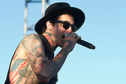 Yelawolf performs at Suburbia Fest in Plano, Texas on May 3, 2014.