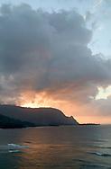 view of Bali Hai, Princeville, Kauai, Hawaii, USA
