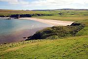 Sandy beach Burrafirth, Unst, Shetland Islands, Scotland
