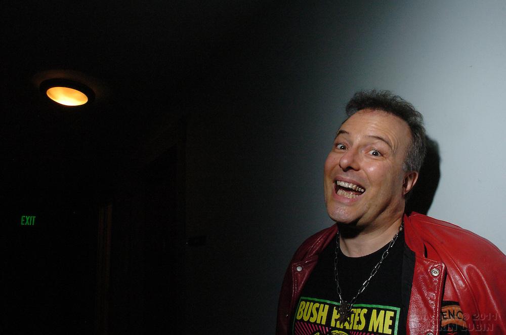 Jello Biafra, San Francisco, CA May 12, 2006.