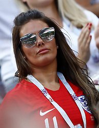 June 24, 2018 - Nizhniy Novgorod, Russia - Group G England v Panama - FIFA World Cup Russia 2018.Rebekah Vardy wife of England forward Jamie Vardy at Nizhny Novgorod Stadium, Russia on June 24, 2018. (Credit Image: © Matteo Ciambelli/NurPhoto via ZUMA Press)