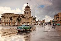 Capitol building in Havana, Cuba.