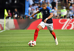 France's Kylian Mbappe during the FIFA World Cup France v Argentina at the Kazan Arena stadium in Kazan, Russia on June 30, 2018. Teenage star Kylian Mbappe struck twice and earned another goal as France defeated Argentina 4-3 and move into the quarter-finals. Photo by Christian Liewig/ABACAPRESS.COM