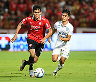 NONTHABURI, THAILAND - JULY 09: Adisak of SCG Muangthong in action during the second half of the Thai League: SCG Muangthong United vs Buriram United at SCG Stadium, Nonthaburi, Thailand on July 09, 2017.<br /> .<br /> .<br /> .<br /> (Photo by: Naratip Golf Srisupab/SEALs Sports Images)<br /> .<br /> Any image use must include a mandatory credit line adjacent to the content which should read: Naratip Golf Srisupab/SEALs Sports Images