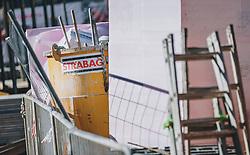 18.03.2020, Kaprun, AUT, Coronavirus in Österreich, im Bild verlassene Baustelle. Österreichs größter Baukonzern - die Strabag, stellt alle Baustellen ein und meldet die Mitarbeiter beim Frühwarnsystem des AMS an // abandoned construction site. Austria's largest construction company - Strabag, stops all construction sites.. The Austrian government is pursuing aggressive measures in an effort to slow the ongoing spread of the coronavirus, Kaprun, Austria on 2020/03/18. EXPA Pictures © 2020, PhotoCredit: EXPA/ JFK