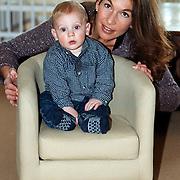 Susan Blokhuis met zoon Gijs