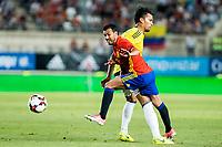 Pedro Rodriguez of Spain during the friendly match between Spain and Colombia at Nueva Condomina Stadium in Murcia, jun 07, 2017. Spain. (ALTERPHOTOS/Rodrigo Jimenez)