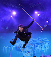 Bruce  Dickinson Lead Vox  Iron Maden at Sonisphere Festival Knebworth <br /> Pix Dave Nelson