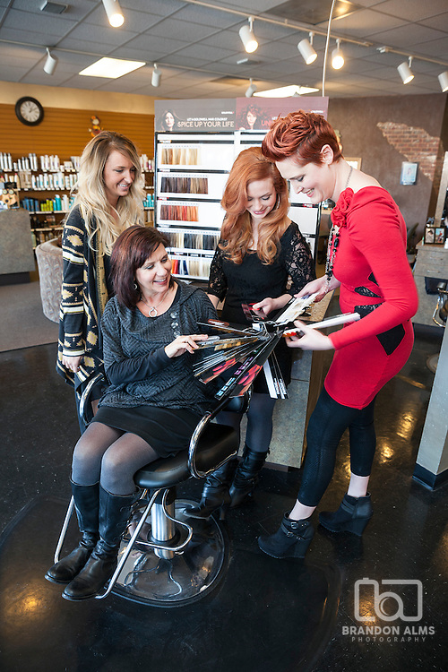 Staff at Details Salon located in Springfield, MO.