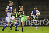 Forest Green Rovers Jay Malshanskyj(7) on the ball  during the The FA Youth Cup match between Bristol Rovers and Forest Green Rovers at the Memorial Stadium, Bristol, England on 2 November 2017. Photo by Shane Healey.
