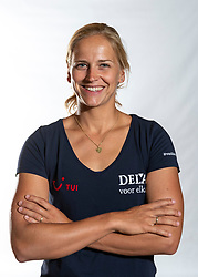 02-07-2018 NED: EC Beach teams Netherlands, The Hague<br /> Marleen van Iersel, NED