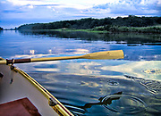 """Rowing at dusk. Size suitable for framing or canvas prints up to 13 x 16"""" or any website."""