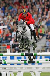 Philippaerts Ludo (BEL) - Cavalor's Winningmood<br /> CHIO Aachen 2008<br /> Photo © Hippo Foto
