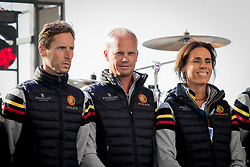 Devos Pieter, Guery Jerome, George Michele, BEL,<br /> EC Rotterdam 2019<br /> © Hippo Foto - Sharon Vandeput<br /> 19/08/19