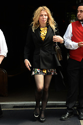 September 8, 2017 - New York, NY, USA - September 8, 2017 New York City..Courtney Love was seen in New York City on September 8, 2017. (Credit Image: © Kristin Callahan/Ace Pictures via ZUMA Press)